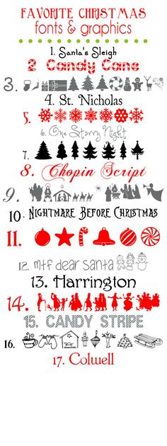 Free Christmas Holiday Winter Fonts I'm sure I will put these to good use! http://Mary-fortheloveofart.blogspot.com