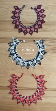 Best 12 Necklace Choker Huichol – Romea Accessories – Mexican Style – Jewelry – Beaded choker necklaces by RomeaAccessories on Etsy Beaded Necklace Patterns, Beaded Choker Necklace, Beading Patterns, Collar Necklace, Seed Bead Jewelry, Beaded Jewelry, Jewelry Necklaces, Statement Jewelry, Beaded Collar