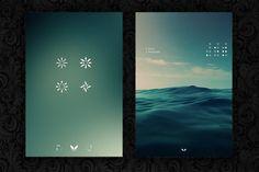 Iphone 4 interface
