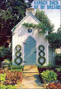 Willowbrook Park: Potting Shed for the Potager...