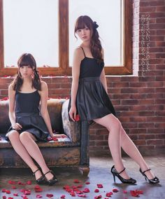 Nishino Nanase (西野七瀬) & Shiraishi Mai 白石麻衣 - #NGZK48 - #Nogizaka46 #idol #japan #jpop #beautiful #ace