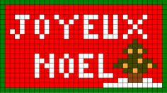 Pixel Art, Christmas Knitting Patterns, Theme Noel, Quilted Table Runners, Christmas Crafts, Christmas Ideas, Atc, Plastic Canvas, Cross Stitch