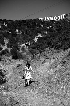 climbing to the hollywood sign