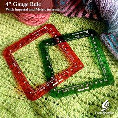 "4"" Gauge Rule Standard Gauge, Semi Transparent, Cool Tools, Creative Studio, Gauges, Swatch, Colours, Projects, Crafts"