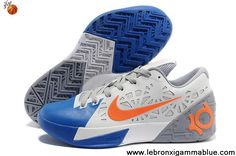 Low Price Nike Zoom KD 6 White Blue Orange Shoes Store