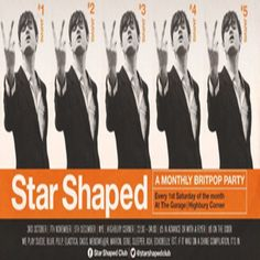 """November Star Shaped Club - Pulp Special at The Garage, 20-22 Highbury Crescent, London, N5 1RD, UK on Nov 07, 2015 to Nov 08, 2015 at 10:30pm to 4:00am.  Time Out: """"London's best indie club. Proving that there's still life left in London's indie scene, this monthly party is an explosion of pure, vintage Britpop.""""  Category: Nightlife,  Price: Early Bird Cheap Advance £3.50, Standard Queue-Jump Advance Ticket £4.50,  Artists: Suede, Blur, Pulp, Elastica, Oasis, Menswe@r, Marion, Gene and…"""