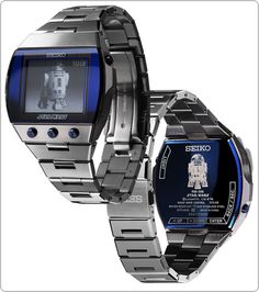 R2D2 Seiko watch... I love!