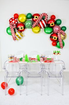 Holiday Christmas Party Tablescape- Softer Than Brittle   Kara's Party Ideas