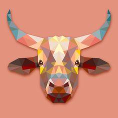 Bull Animals Gift by MrNicekat