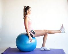 5 Ways to Use an Exercise Ball for Beginners - wikiHow