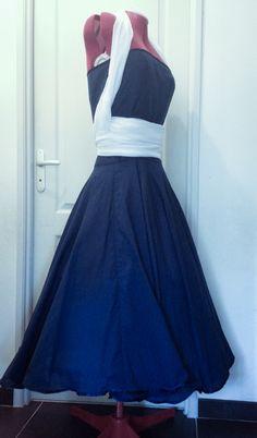 Robe années 50, créa de 2014