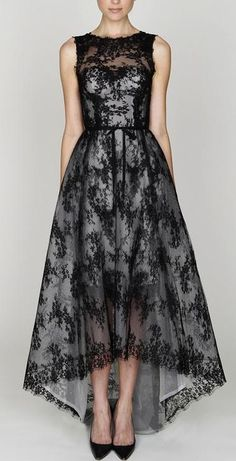 Black Lace Dress ♥