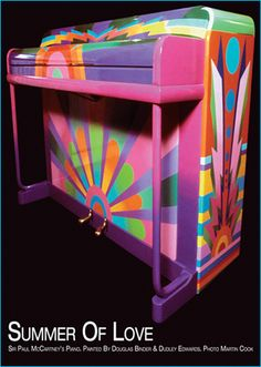 Macca's upright piano. Found this in Google images when I was researching paint job options for my own upright