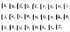 Free scrabble, Regular Font - futuristic fonts - Free scrabble, Regular.ttf Installation
