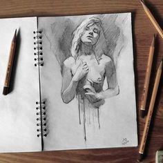 Sketchbook    #face #portrait #figure #sketch #sketchbook #paper #pencils #pencil #drawing #pencilsketch #pencildrawing #draw #art #miro_z #arts_help #beautifulbizarre #drawingthesoul #artcomplex #artist_4_shoutout #onyxkawai