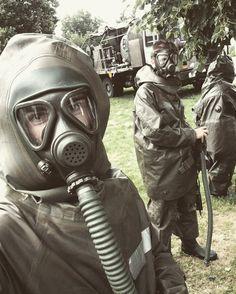 Masked protection Hazmat Suit, Kinky, Underwater, Latex, Army, Suits, Blog, Masks, Gi Joe
