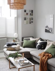 Finding my personal style and how to create a home that's a true reflection of you - cate st hill – simple interior design – Scandinavian style living room - Simple Living Room, Living Room Green, My Living Room, Home Interior, Decor Interior Design, Interior Design Living Room, Living Room Designs, Small Living, Living Room Decor Uk