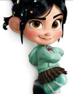 vanellope, love her!!