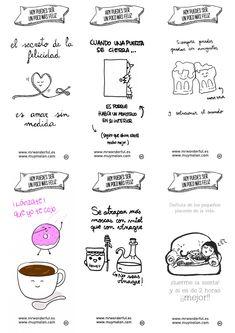 Wonderconsejos de los buenos, buenísimos! www.mrwonderfulshop.es #infographic #happiness