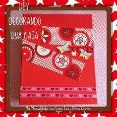 DIY cómo decorar una caja para darle un uso nuevo como envoltorio de un regalo especial   http://youtu.be/FJywwJLtfME