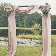 Draping an arch | Weddings, Style and Decor | Wedding Forums | WeddingWire