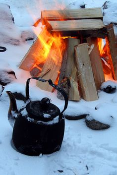 The best coffee I ever had was when we camped in the Colorado Mountains and made our coffee in an old percolator coffee pot over an open fire - amazing!