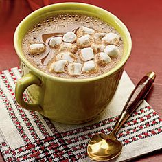 Gingerbread Hot Chocolate | MyRecipes.com
