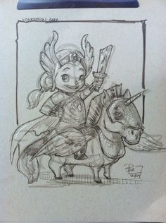 Adorable She-Ra commission by Patrick Ballestero