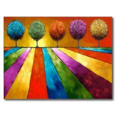 Multicolores.