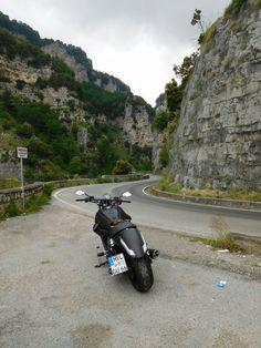 My Audace in der Nähe von Furore, Italien