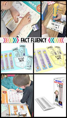 Guided math fact flu