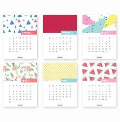 Nada de procrastinar! Imprima gratuitamente um destes calendários 2017 que selecionamos para no próximo ano você se organizar!