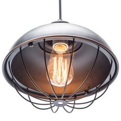 """Wesley 10"""" Pendent by Globe Electric"""