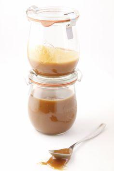 Homemade Coffee Caramel Sauce www.bellalimento.com