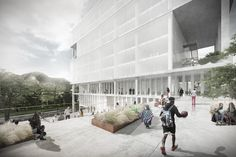 MOBO Architects Win Competition to Design Government Building in Bogotá, Colombia,© M.O.N.O.M.O., Courtesy of MOBO Architects