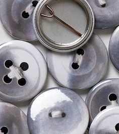 Pearly Button Badges