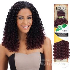 Freetress Equal Synthetic Weave - JAMAICAN BUNDLE WAVE [7702]