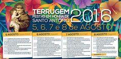 Terrugem: Festas em Honra de Santo António, de 5 a 9 de Agosto | Portal Elvasnews