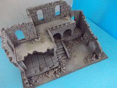 Ancient ruin - Osgiliath - Frostgrave - Fantasy Wargames Scenery - Terrain in…
