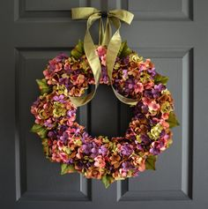 If you are as excited about the changing of the seasons as I am, here is a curated roundup of Etsy Autumn wreaths that you'll love. Celebrate Fall!