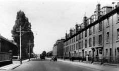 Old photograph of Dunkeld Road in Perth, Perthshire, Scotland Perth Scotland, Scotland Travel, Old Photographs, Old Photos, Historical Photos, Street View, City, Pictures, Image