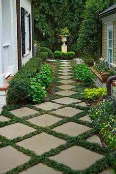 Sublime Cool Tips: Rock Garden Landscaping Tutorials raised garden landscaping t. Covent Garden, Side Yard Landscaping, Landscaping Ideas, Backyard Patio, Front Yard Garden Design, Minimalist Garden, Garden Cottage, Garden Art, Beautiful Gardens
