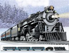 Lionel Polar Express Train Set O Gauge.