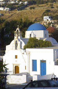 mykonos church Greek Isles, Orthodox Christianity, Paradise On Earth, Greek Life, Mykonos, Most Beautiful Pictures, The Neighbourhood, Greece, Europe