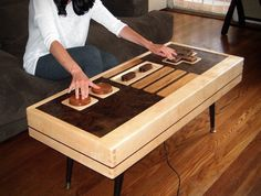 10 Cool Video Game Inspired Home Accessories (9). I want this table!
