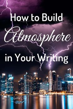 Building atmosphere and setting the scene. Creative Writing Tips, Book Writing Tips, Writing Resources, Writing Help, Writing Skills, Writing Prompts, Writing Guide, Writing Poetry, Writing Genres
