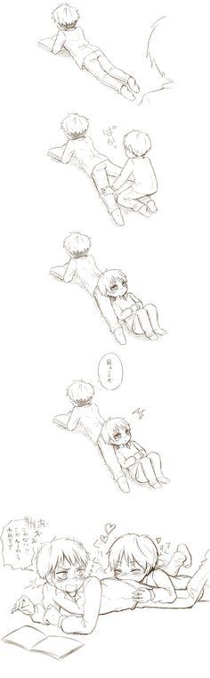 Eren and Jean // AoT