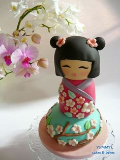 kokeshi doll themed party - Google Search