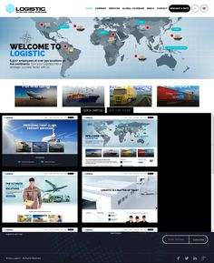 Logistic - WP Theme For Transportation Business WordPress Themes | #wordpressbusiness #wordpresstransportationtheme | Live Preview and Download: http://themeforest.net/item/logistic-wp-theme-for-transportation-business/9559572?ref=ksioks