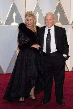 Richard Dreyfuss and wife, Svetlana, arrive at The 89th Oscars® at the Dolby® Theatre in Hollywood, CA on Sunday, February 26, 2017. #4ChionStyle #Fashion #style #dress #redcarpet #Oscars
